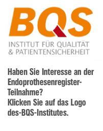Endoprothesenregister. ENDOINFO.de Endoprothetik. Künstliche Gelenke.